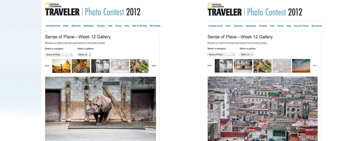 My Photos on the National Geographic website