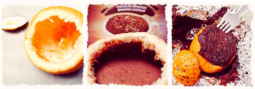 Recette de l'orange-gâteau au chocolat