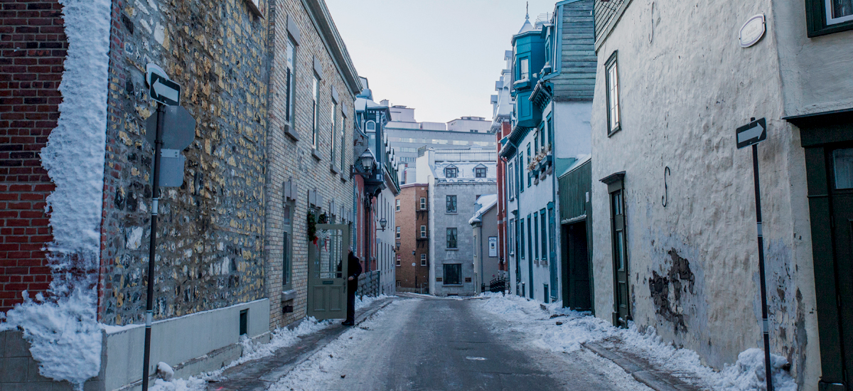 Winter Love in Photos – Quebec City