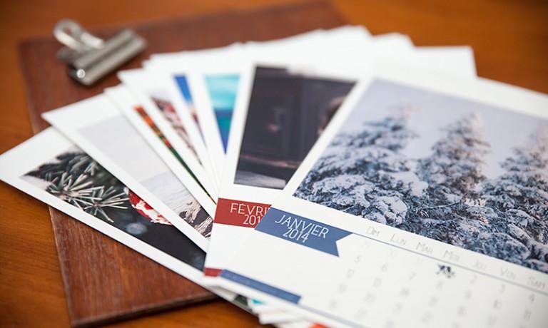 Calendrier de photos 2014