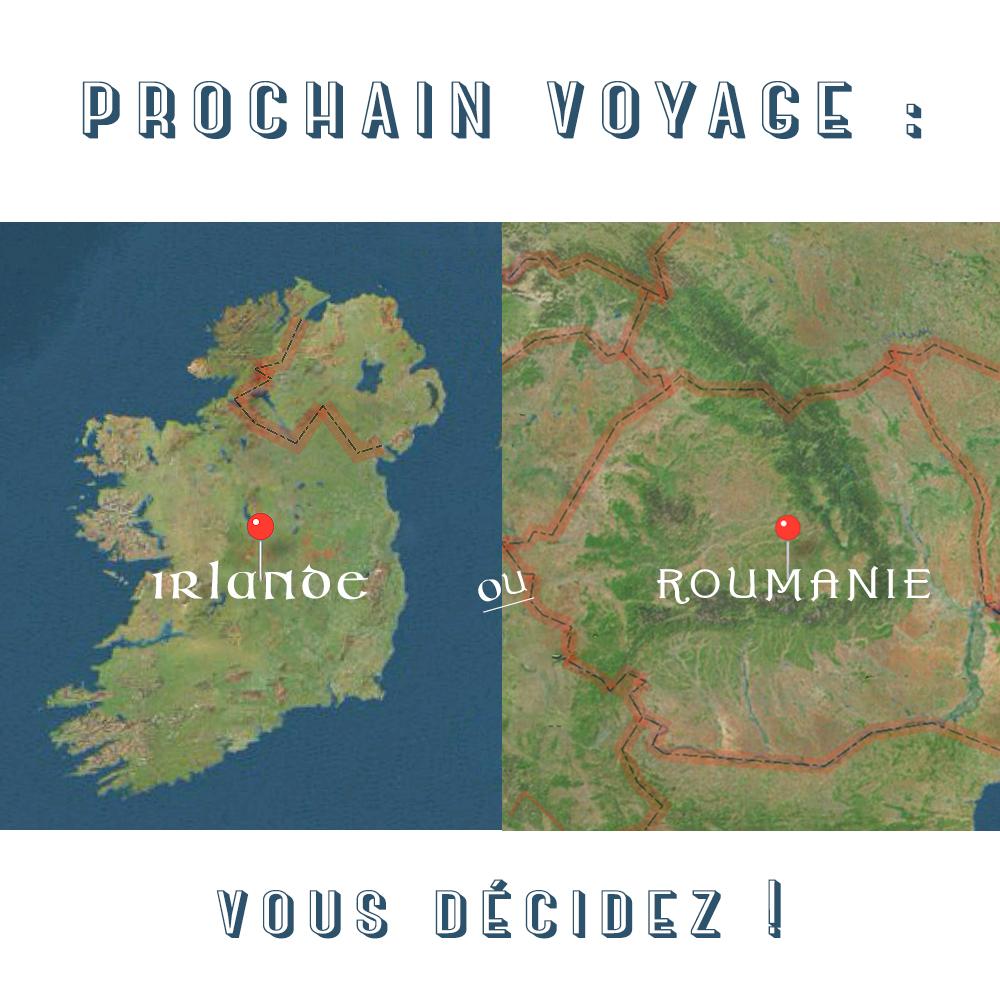 Choisissez ma prochaine destination